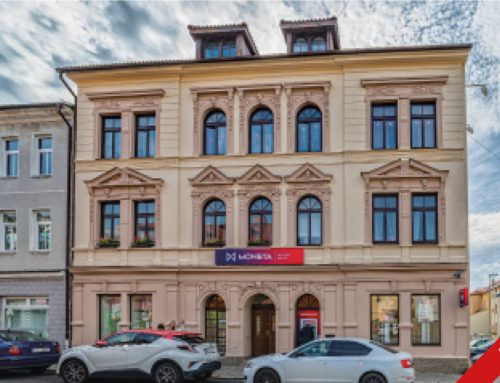 Litvínov residential building